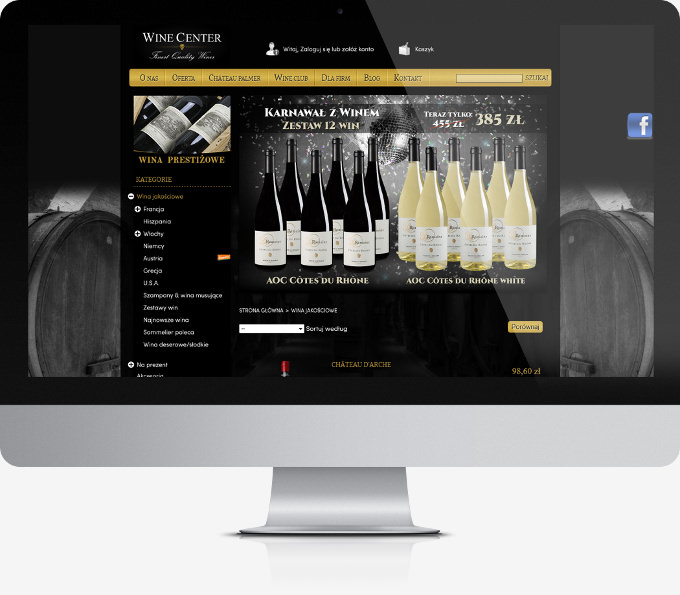 WineCenter Portfolio